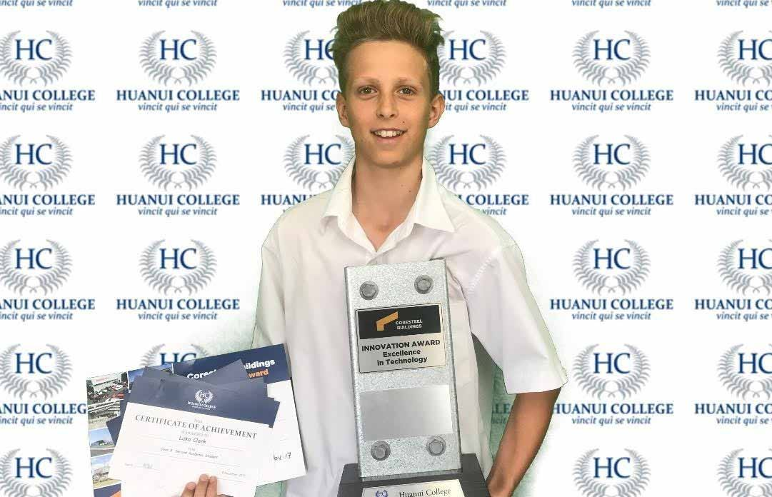 Huanui College Innovation award